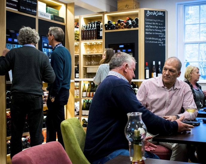 Wine merchant in Bath
