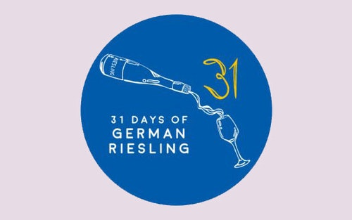 The 31 Days Of German Riesling Logo